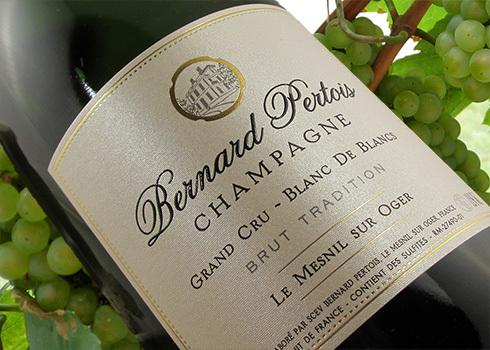 Champagner Bernard Pertois Blanc de Blancs Grand Cru Brut