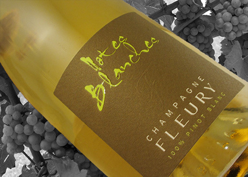 Champagner Fleury Notes Blanches